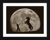 Bad Moon Risin (Framed) -  Barry Hart - McGaw Graphics