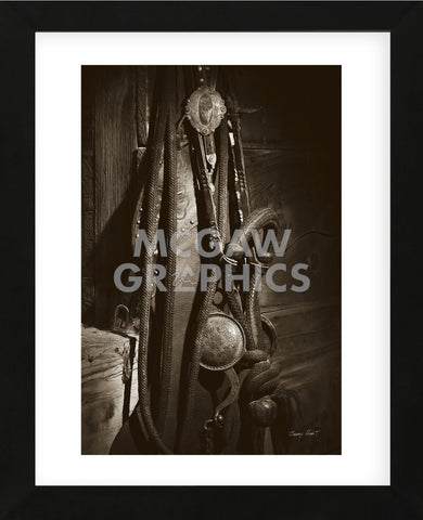 Bit, Bridle and Hackamore (Framed) -  Barry Hart - McGaw Graphics