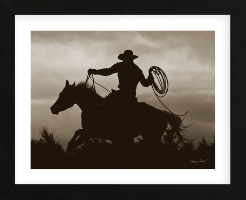 Midnight Rider (Framed) -  Barry Hart - McGaw Graphics