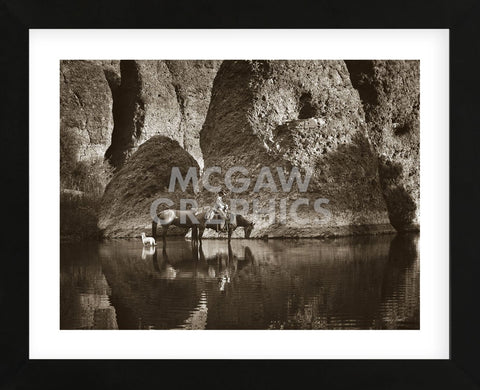 Oasis (Framed) -  Barry Hart - McGaw Graphics