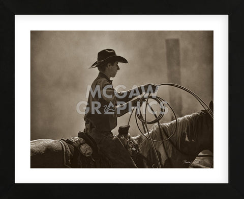 Saddle Tramp (Framed) -  Barry Hart - McGaw Graphics