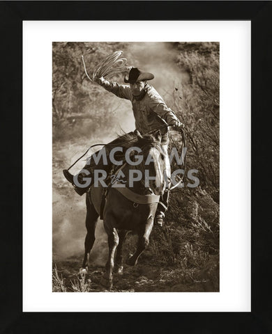 Trail Boss (Framed) -  Barry Hart - McGaw Graphics