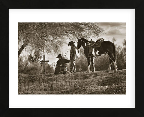 Paying Respect (Framed) -  Barry Hart - McGaw Graphics