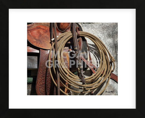 Happy Trails (color) (Framed) -  Barry Hart - McGaw Graphics
