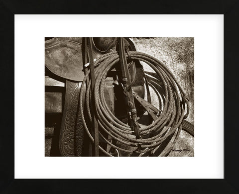 Happy Trails (sepia) (Framed) -  Barry Hart - McGaw Graphics