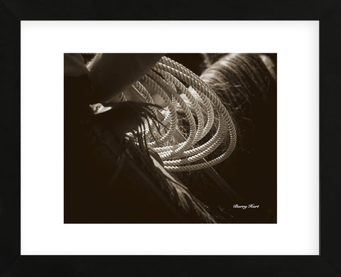 Cowboy Rope (Framed) -  Barry Hart - McGaw Graphics