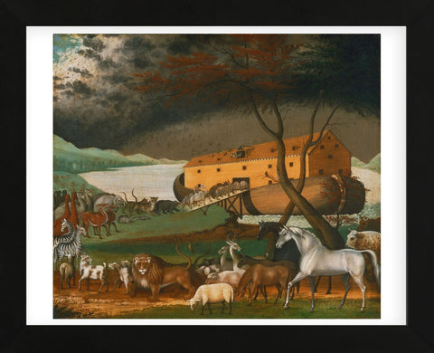 Noah's Ark, 1846 (Framed) -  Edward Hicks - McGaw Graphics