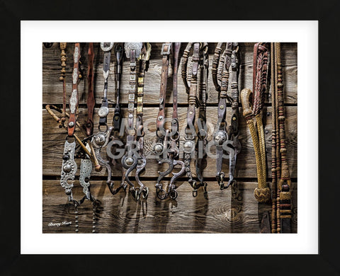 Tools of the Trade (color) (Framed) -  Barry Hart - McGaw Graphics