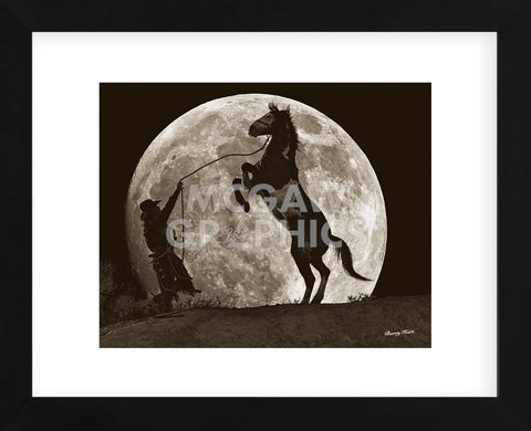 Moon Dance (Framed) -  Barry Hart - McGaw Graphics