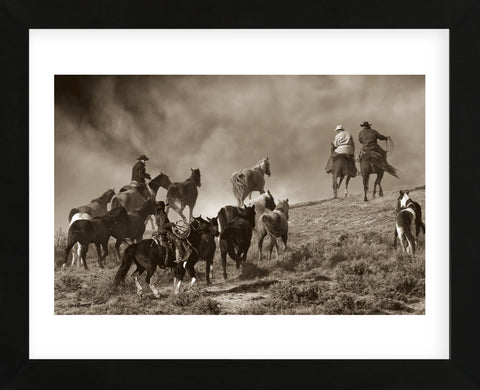 The Wild Bunch (Framed) -  Barry Hart - McGaw Graphics