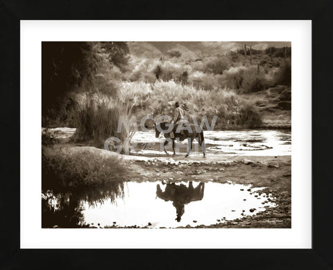 River Ride (Framed) -  Barry Hart - McGaw Graphics