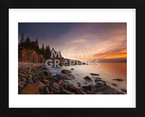 Daybreak, Monument Cove (Framed) -  Michael Hudson - McGaw Graphics