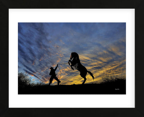 Meeting of the Minds (color) (Framed) -  Barry Hart - McGaw Graphics