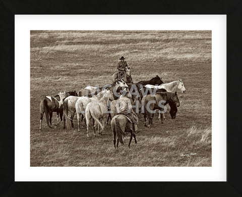 The Gathering (Framed) -  Barry Hart - McGaw Graphics