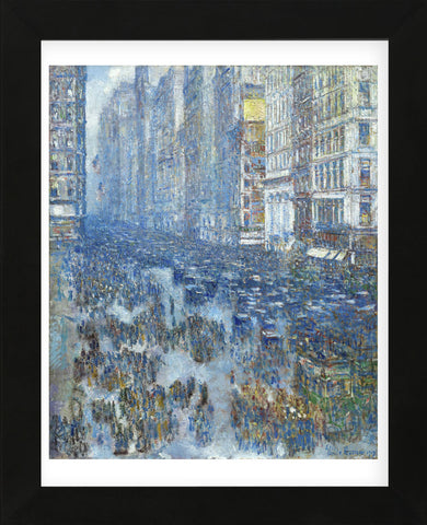 Fifth Avenue, 1919 (Framed) -  Childe Hassam - McGaw Graphics