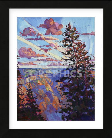 The North Rim IV (Framed) -  Erin Hanson - McGaw Graphics