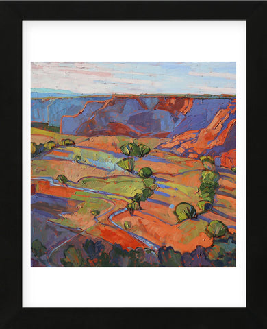 Erin Hanson - Patterns in Triptych (center)