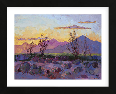 Violet Point (Framed) -  Erin Hanson - McGaw Graphics