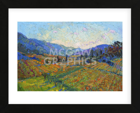 Napa in Color (Framed) -  Erin Hanson - McGaw Graphics