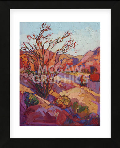 Ocotillo Shadow (Framed) -  Erin Hanson - McGaw Graphics
