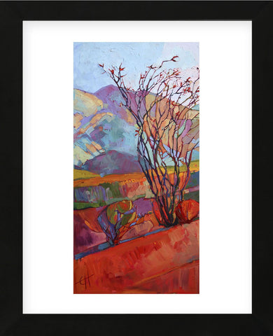 Ocotillo Triptych (left) (Framed) -  Erin Hanson - McGaw Graphics
