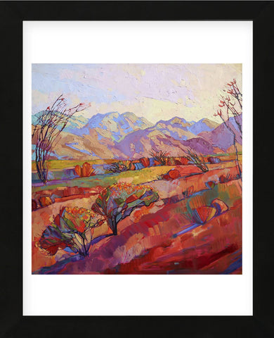 Ocotillo Triptych (center) (Framed) -  Erin Hanson - McGaw Graphics