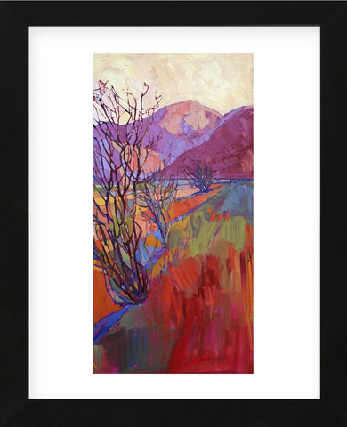 Ocotillo Triptych (right) (Framed) -  Erin Hanson - McGaw Graphics