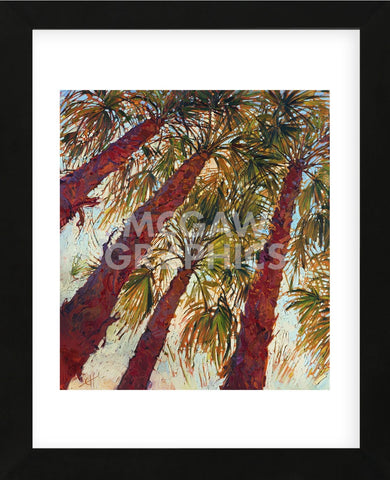 Into the Palms (left) (Framed) -  Erin Hanson - McGaw Graphics