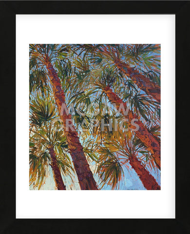 Into the Palms (right) (Framed) -  Erin Hanson - McGaw Graphics