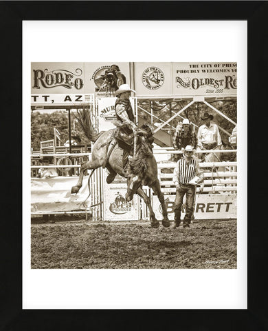 Rodeo (Framed) -  Barry Hart - McGaw Graphics