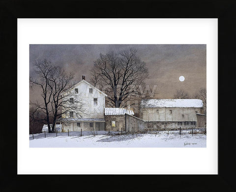 Full Moon (Framed) -  Ray Hendershot - McGaw Graphics