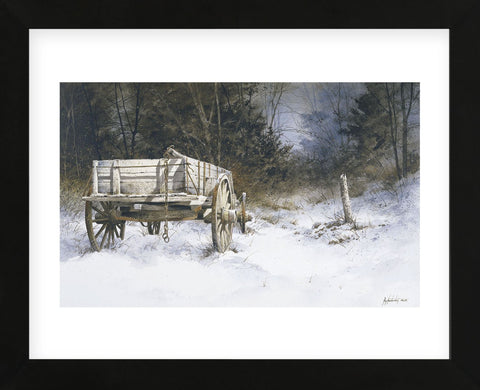 Edge of the Wood  (Framed) -  Ray Hendershot - McGaw Graphics