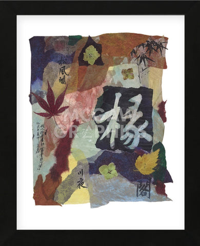 Chinese Autumn III  (Framed) -  Annabel Hewitt - McGaw Graphics