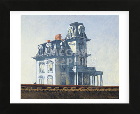Edward Hopper - House by the Railroad, 1925