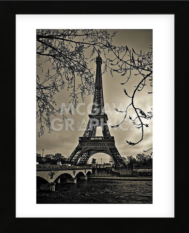 Curves of Eiffel (Framed) -  Sabri Irmak - McGaw Graphics