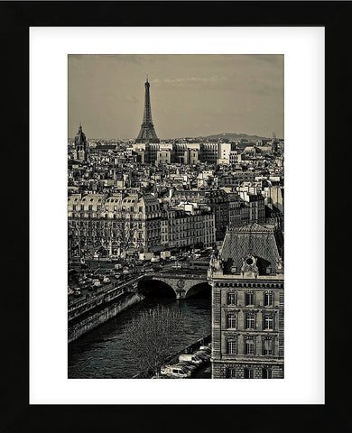 Paris Rooftops (Framed) -  Sabri Irmak - McGaw Graphics