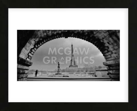 Paris, Under the Bridge (Framed) -  Sabri Irmak - McGaw Graphics