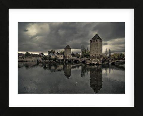 The Medieval Bridge, Ponts Couverts (Framed) -  Sabri Irmak - McGaw Graphics