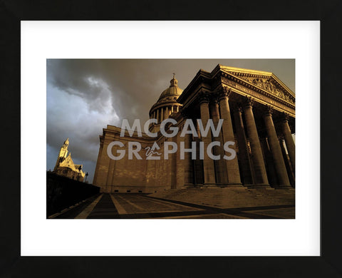 Le Pantheon (Framed) -  Sabri Irmak - McGaw Graphics