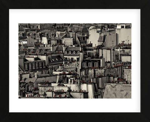 Chimneys of Paris (Framed) -  Sabri Irmak - McGaw Graphics