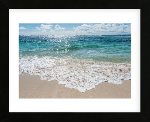 My Beach (Framed) -  Mary Lou Johnson - McGaw Graphics