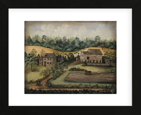 Paxson Farm (Framed) -  Barbara Jeffords - McGaw Graphics