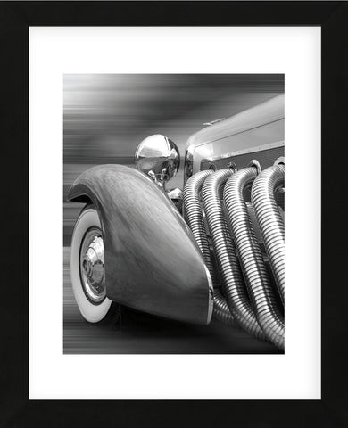 Duesenberg in Motion (Framed) -  Richard James - McGaw Graphics