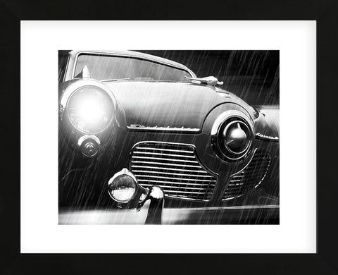 Studebaker Rain (Framed) -  Richard James - McGaw Graphics