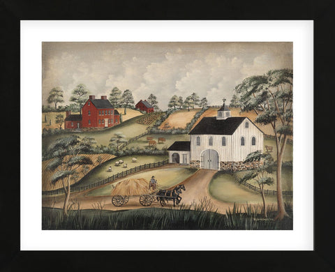 Country Sunday (Framed) -  Barbara Jeffords - McGaw Graphics