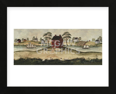 Riverside (Framed) -  Barbara Jeffords - McGaw Graphics