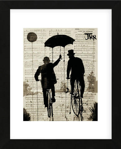 The Umbrella (Framed) -  Loui Jover - McGaw Graphics