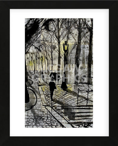 Walking in Montmartre (Framed) -  Loui Jover - McGaw Graphics