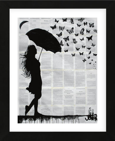 Butterfly Rain (Framed) -  Loui Jover - McGaw Graphics