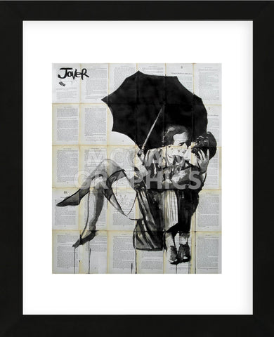 Vintage Kiss (Framed) -  Loui Jover - McGaw Graphics